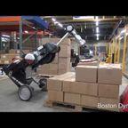 二輪で!鳥のような姿の荷物運搬ロボット!!