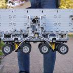 レゴで作った!超精密な橋建設の自動車!!
