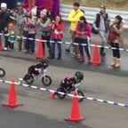 4歳の!子供達の自転車レース!!