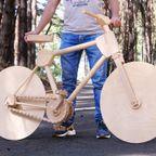 木の自転車の!完成度が凄い!!