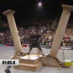 2本の棒が倒れないように!支える競技の世界記録!!
