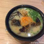 亀王で黒肉一本めんを食す in サイアムスクエア・ワン