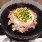 ペッパーランチで鉄板でジュージュー焼かれた肉を食す on センチュリー 1階