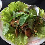 中華料理店 ギトティ・ポーチャナーでタイ料理を食す in カムペーンペット県