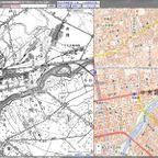 「今昔マップ on the web」昔と現在の地図を比較