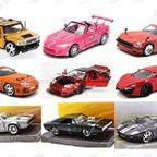 男の子のおもちゃ選び「Jada Toys ダイキャストカー」