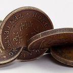 【画像】もったいないけど凄い!コインを使った面白アート!