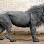 【画像】金網で作られた本物のような動物たちが凄い!!