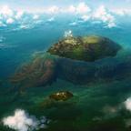 【画像】幻想的でドキドキする超巨大生物の壁紙!
