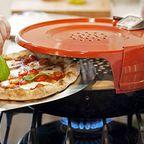カマド焼きのピザが自宅で簡単に作れる!ピザオーブンが魅力的!!