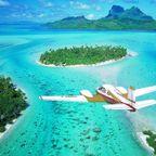 【画像】地上最後の楽園と呼ばれている「ボラボラ島」の絶景!