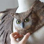 【画像】動物をモチーフにしたスカーフがなんだか可愛い!!