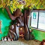 家の中に樹木の洞穴「樹洞」ができる!子供達も大喜び!!