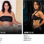 やればデキル!ダイエット肉体改造のビフォーアフターの画像の数々!!