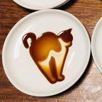 【画像】猫が浮き出る醤油の小皿がかわいい!!