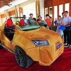 中国の3Dプリンタで作られた電気自動車がなんだかヤバイ!
