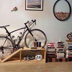 ちょっとした工夫で自転車の収納がカッコよくなる!