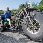 【画像】重さ1トン!世界一重い自転車が凄い!!