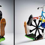 徒歩感覚で移動する自転車のようなウォーキングバイクが魅力的!!