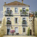 【画像】フランスのウォールアートが華やかに街を彩る!!