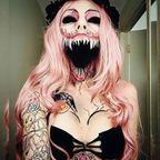 怖すぎて!裸足で逃げ出すハロウィンのメイクの画像の数々!!