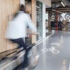 【画像】超本気で健康のために自転車の利用を促進している会社がスゴイwwww