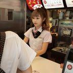 台湾のマクドナルドの女の子が!人形のようで凄まじく可愛い!!