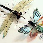 生きてるみたい!命を感じる電子部品でできた昆虫の画像の数々!!
