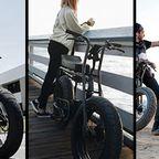 【画像】気分はアウトロー!バイクのように乗れる電動自転車!!