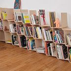 どんどん増やしてどんどん減らせる!超便利そうな本棚が凄い!!
