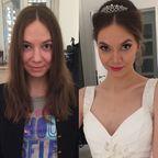 やっぱり違う!女性の化粧前、化粧後の画像の数々!!