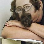 寝てても安心!居眠りヘアーの画像の数々!!