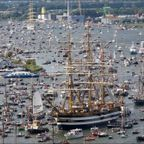 運河が船だらけ!アムステルダムの帆船のフェスティバルが凄い!!