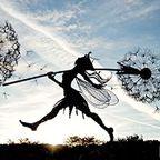 【画像】生きてるみたい!ハリガネで再現された妖精が凄い!!