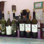 カオヤイの外れにあるアルシディニ・ワイナリーで8種類のワインをテイスティング