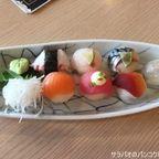 Masaaki Sushiで手毬寿司を食す in サムットソンクラーム県