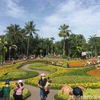 ノンヌット・トロピカルガーデンはパタヤ近郊にある広大な庭園