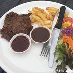 ステーキハウス チェープ・タオターンで89バーツの激安牛肉ステーキを食す in ラーチャブリー県