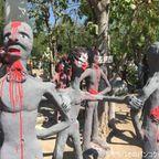 地獄寺との異名を持つパイローンウア寺で地獄体験 in スパンブリー県