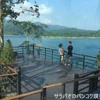 チャラタラは広大なチャオラン湖が面前に広がるカフェ in スラタニ県