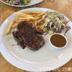 マックスビーフでタイ国産プレミアム牛肉「KU牛肉」のステーキを食す in ナコーンパトム県