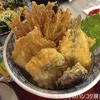 てん松で魚天丼 385バーツを食す in サイアム・パラゴン