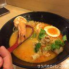 タニヤにあるラーメン屋 トマトラーメンでトムヤムヌードルを食す