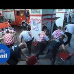 クロアチアの!消防士の光と影が分かる動画・・・。
