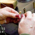 最高峰の!職人が作る水彩画の筆の製作工程が凄い!!