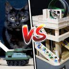 猫軍とハムスター軍の攻城戦が癒やされる!!