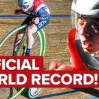 超巨大な前輪!ペニー・ファージング自転車で世界記録に挑戦!!
