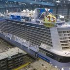 巨大!豪華客船の製造風景が壮大すぎる!!