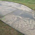 水の力で路面に描く、パワーウォッシュのアートが魅力的!!