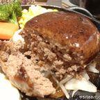 ステーキハウス ひろでランチメニューのハンバーグステーキを食す in トンロー